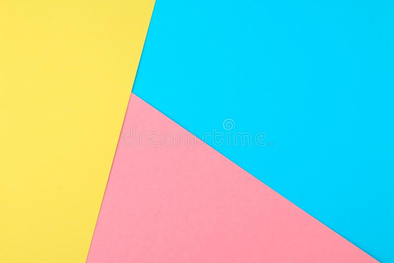 Abstrakt papper är färgrik bakgrund, den idérika designen för pastellfärgad tapet arkivfoto