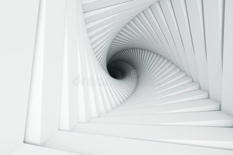 Abstrakt paskujący textured geometryczny wzór ilustracja wektor