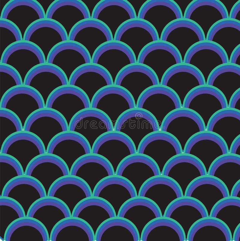 Abstrakt pattern-1 stock illustrationer