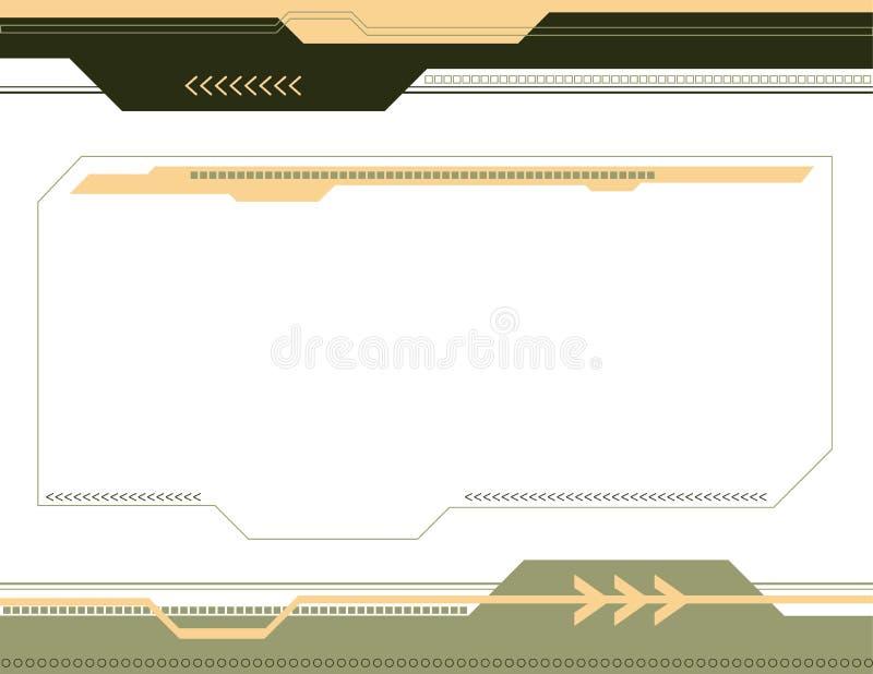 abstrakt pilbakgrund royaltyfri bild