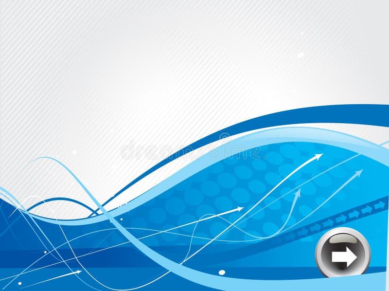 abstrakt pilbakgrundssymbol stock illustrationer
