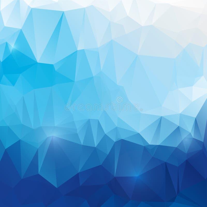 Abstrakt polygonal bakgrund för vektor vektor illustrationer