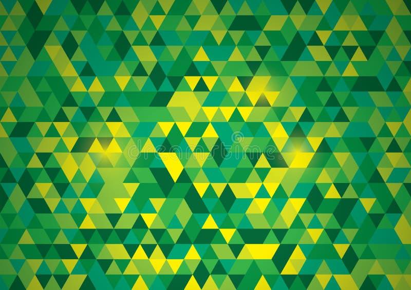 Abstrakt polygonal bakgrund för vektor stock illustrationer