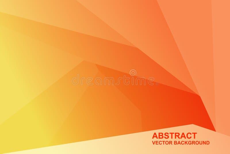 Abstrakt polygonal bakgrund, generisk bakgrund för triangulering för design också vektor för coreldrawillustration vektor illustrationer