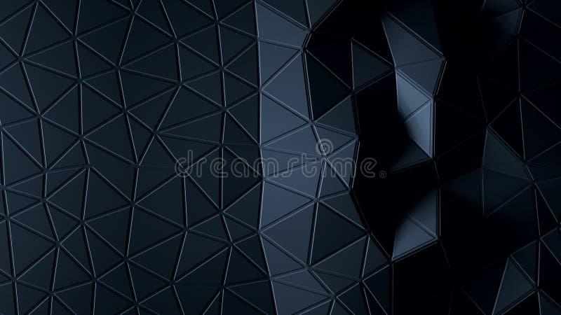 Abstrakt Polygonal geometrisk bakgrundsgrafitfärg vektor illustrationer