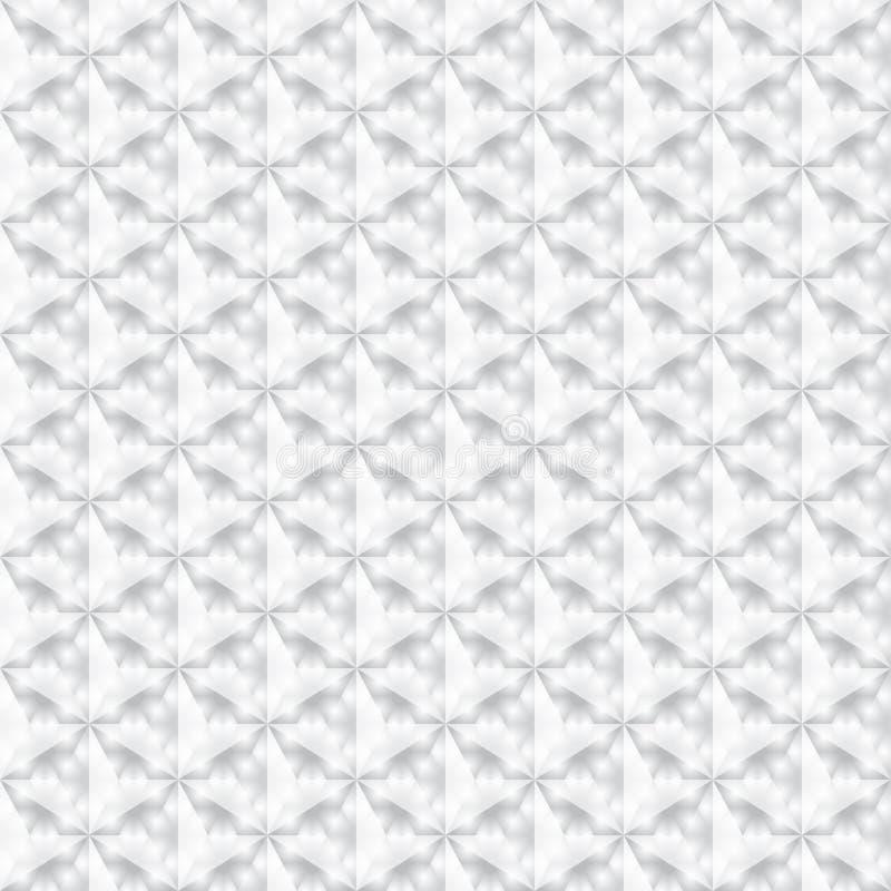 Abstrakt popielata i biała bezszwowa tekstura ilustracja wektor