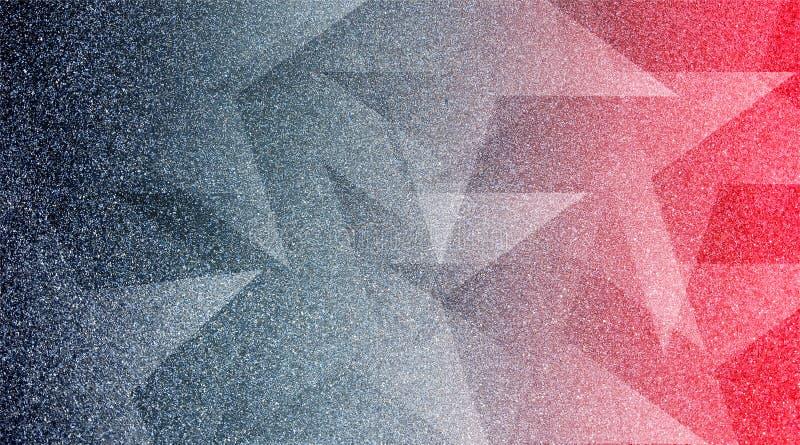 Abstrakt popielaty i czerwony tło cieniący paskowaliśmy wzór i bloki w diagonalnych liniach z rocznikiem siwieją teksturę zdjęcia royalty free