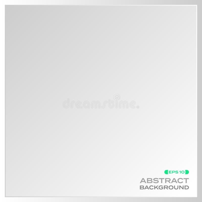 Abstrakt prosty aluminium talerza tło royalty ilustracja