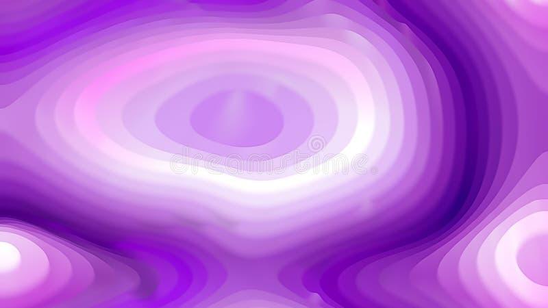 Abstrakt purpurfärgad och vit krökningkrusningstextur royaltyfri illustrationer