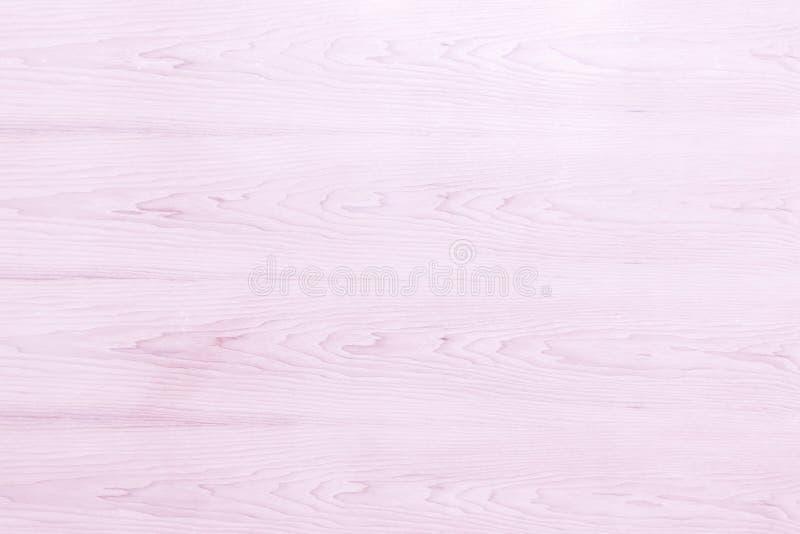 Abstrakt Różowa jaskrawa drewniana tekstura nad światło białe koloru tła sztuki naturalnej prostej prostej łupy podłogi adry drew obraz royalty free