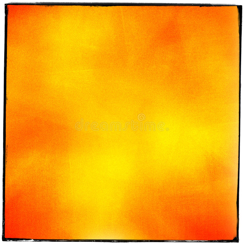 Abstrakt röd gul grained filmremsa arkivbild