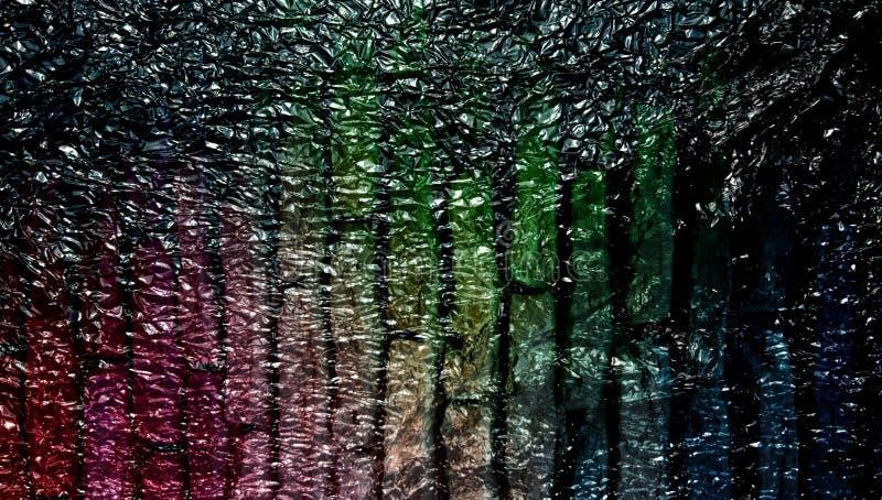 Abstrakt röd skuggad metallisk texturerad bakgrund med belysningeffekter wallpaper royaltyfri fotografi