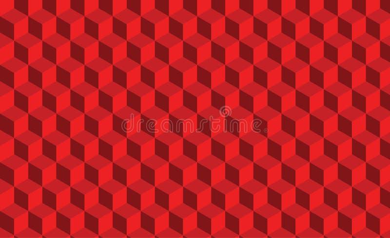 abstrakt röd textur Vektorbakgrund 3d pappers- konststil kan användas i räkningsdesignen, bokdesignen, websitebakgrunder stock illustrationer