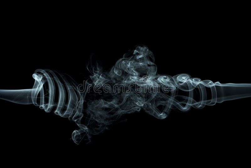 abstrakt rök royaltyfria foton