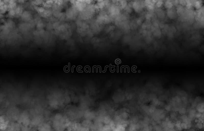 Abstrakt rökhalloween fasa för textur och bakgrund arkivbilder
