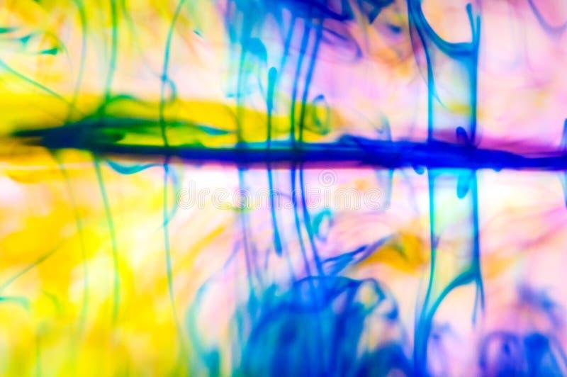 Abstrakt rökreflexion i rörelse royaltyfri bild
