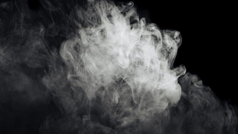 abstrakt rökwhite arkivfoto