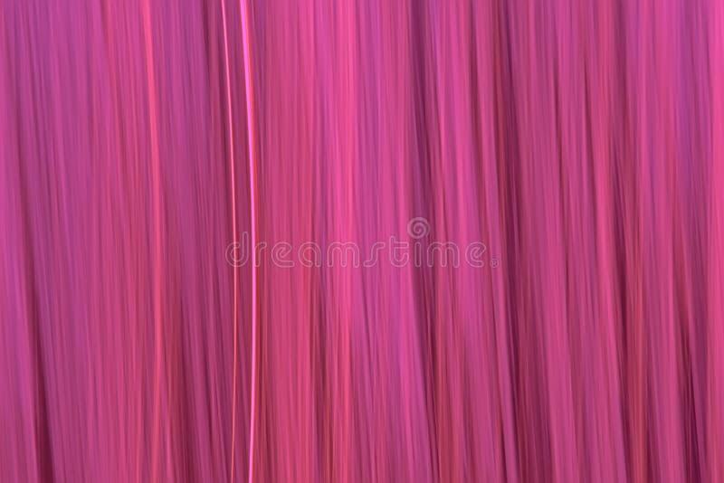 Abstrakt rörelse gjorde suddig rosa vertikal bakgrundstextur arkivbilder