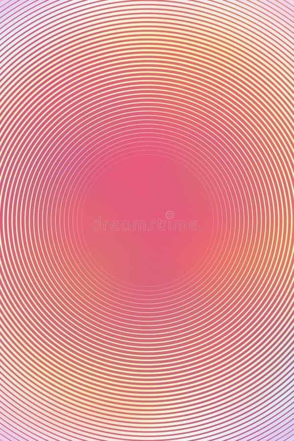 Abstrakt radiell pastellfärgad bakgrund för lutning härligt royaltyfri illustrationer
