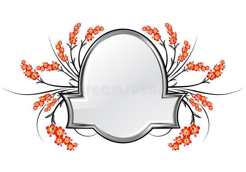 abstrakt ram royaltyfri illustrationer