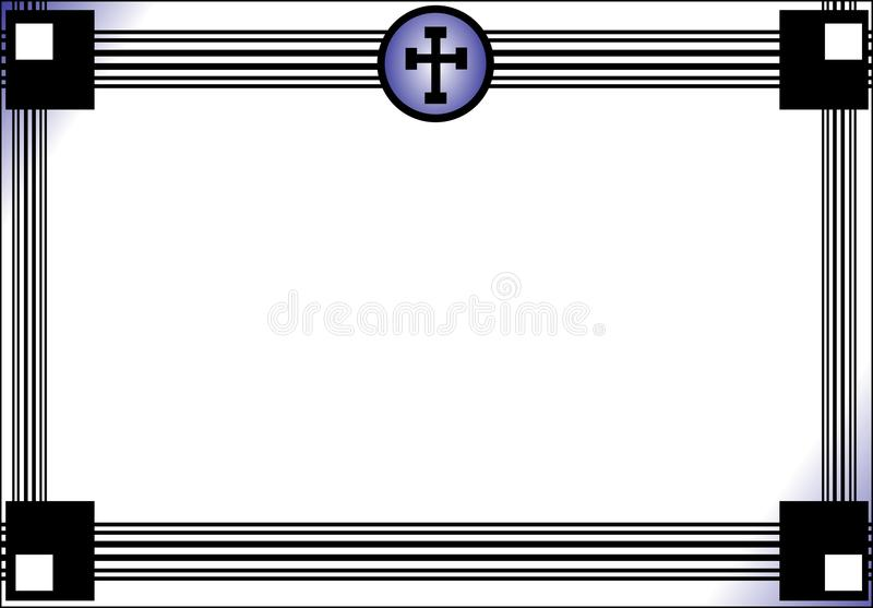 Dödsruna vektor illustrationer