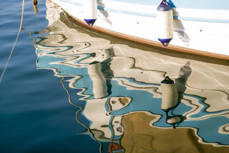 abstrakt reflexioner royaltyfri bild