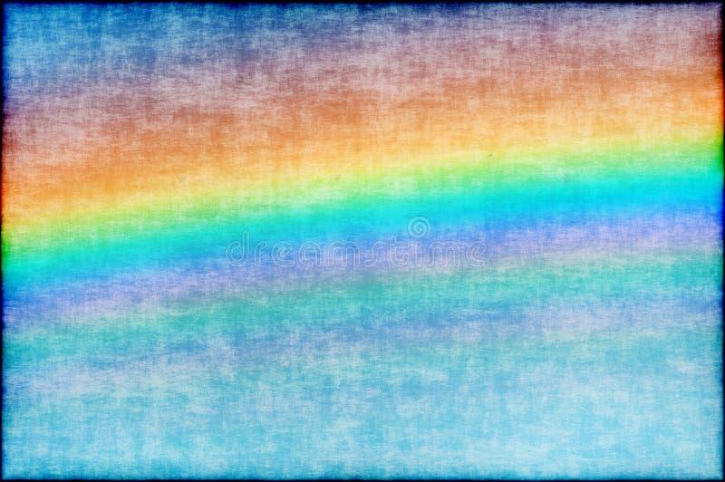 Abstrakt regnbågebakgrundsgrunge vektor illustrationer