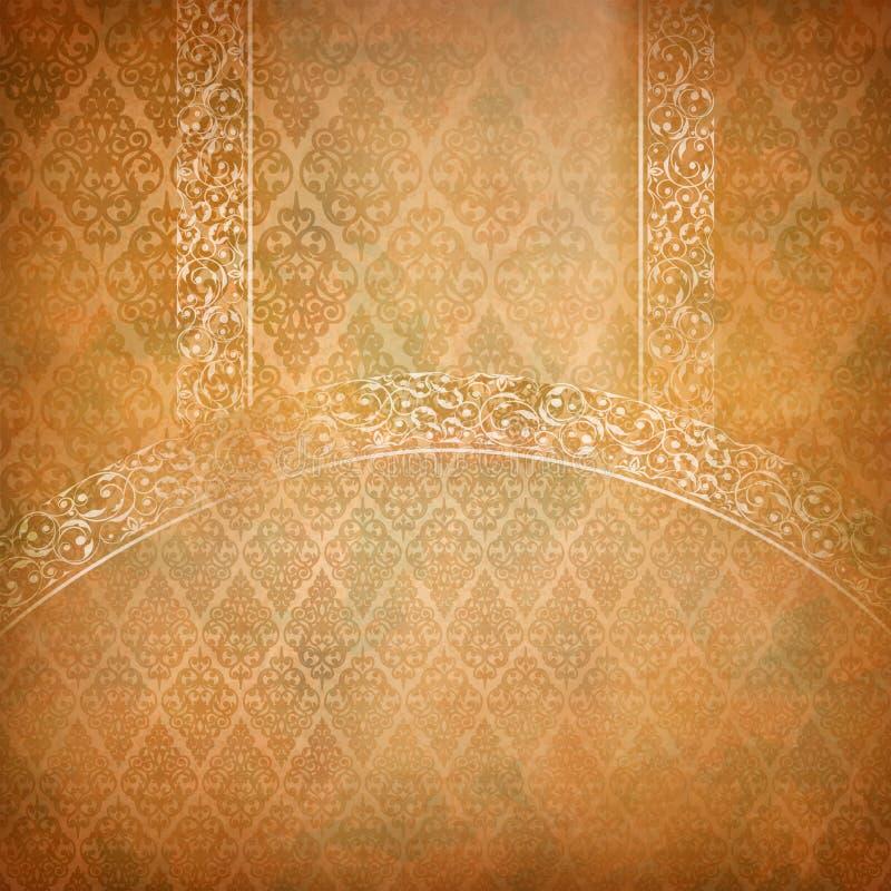 Abstrakt retro färgrik bakgrund för tappning vektor illustrationer
