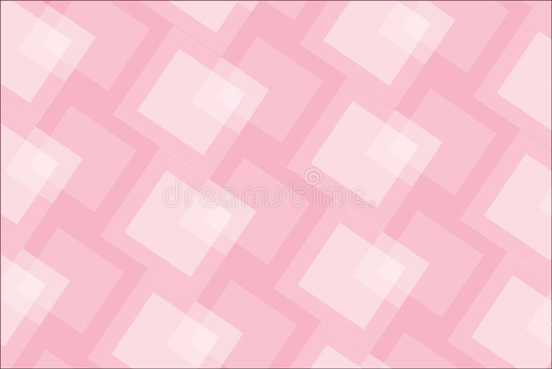 Abstrakt rosa geometrisk design för formvektorbakgrund för ditt innehåll royaltyfri illustrationer