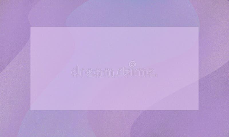 Abstrakt rosa och violett signalbakgrund med v?gor och ramen Design f?r baner stock illustrationer