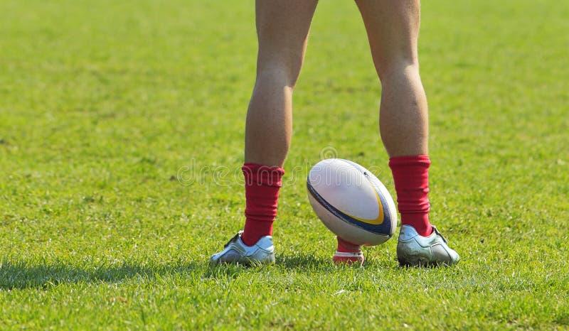 abstrakt rugby royaltyfri fotografi
