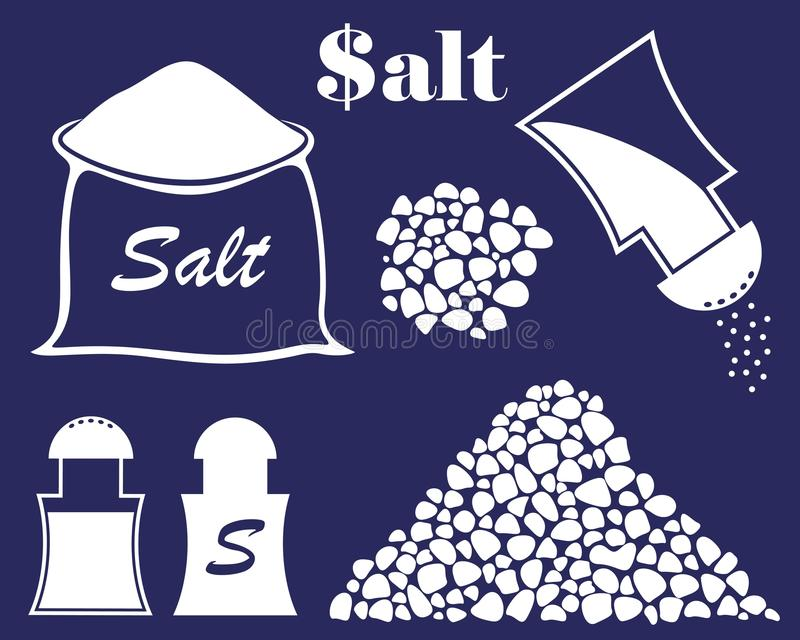 Abstrakt sól ilustracja wektor