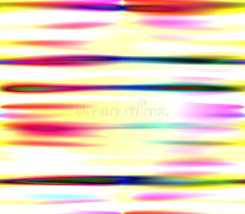 Abstrakt sömlös bakgrund i röda och gula, gröna och rosa, blåa och svarta färger för vit, stock illustrationer