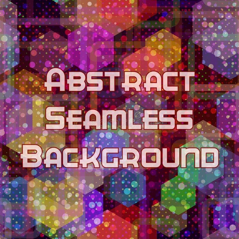 Abstrakt sömlös färgbakgrund vektor illustrationer