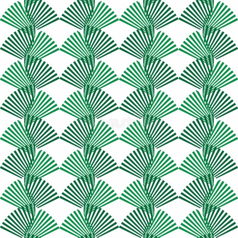 Abstrakt sömlös form för prydnad för natur för modellgräsplansidor Ci vektor illustrationer
