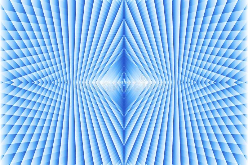 Abstrakt sömlös geometrisk modell av blå kulör textur Idérik vektorillustrationdesign fotografering för bildbyråer