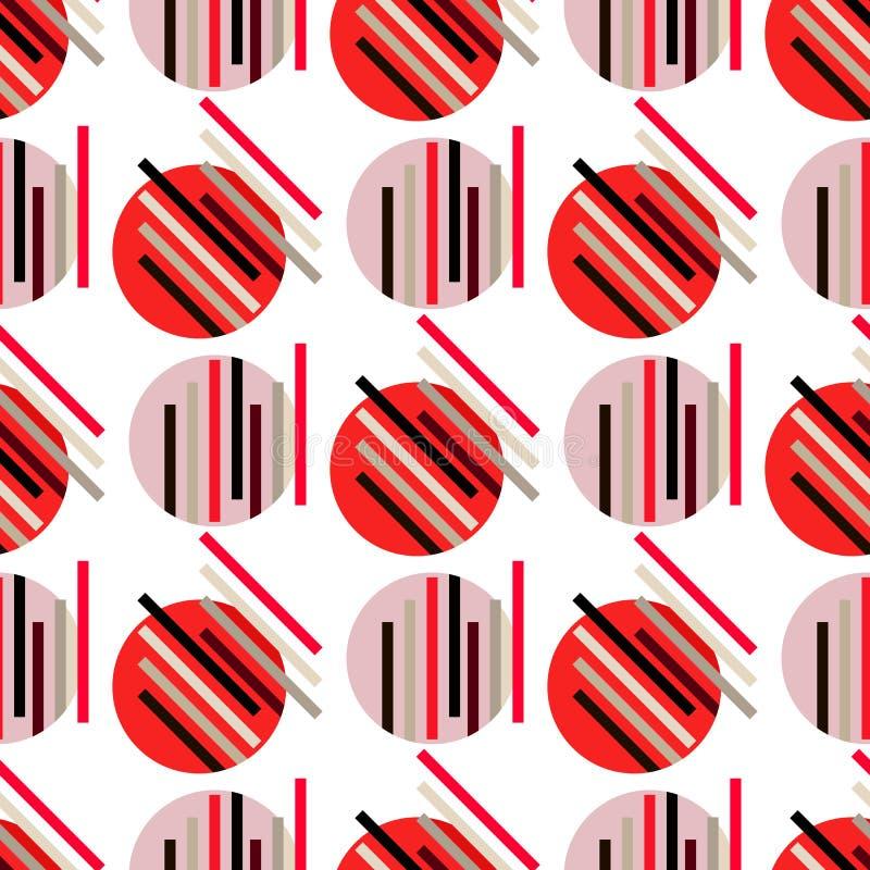 Abstrakt sömlös pattern203 vektor illustrationer