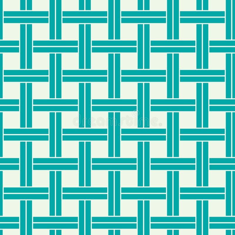 Abstrakt sömlös sammansättning för vektor som är bästa för bruk i textil och royaltyfri illustrationer