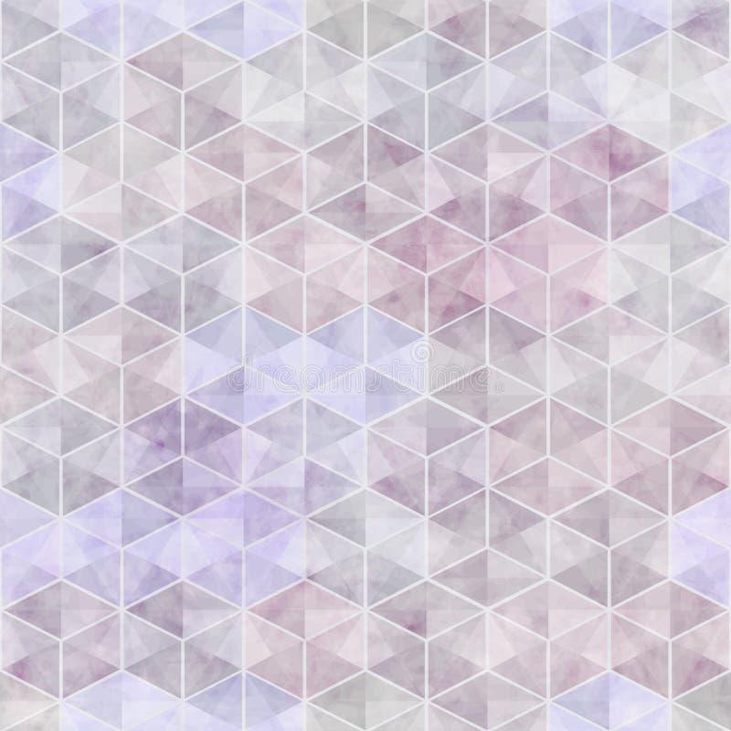 Abstrakt sömlös textur för vektor stock illustrationer