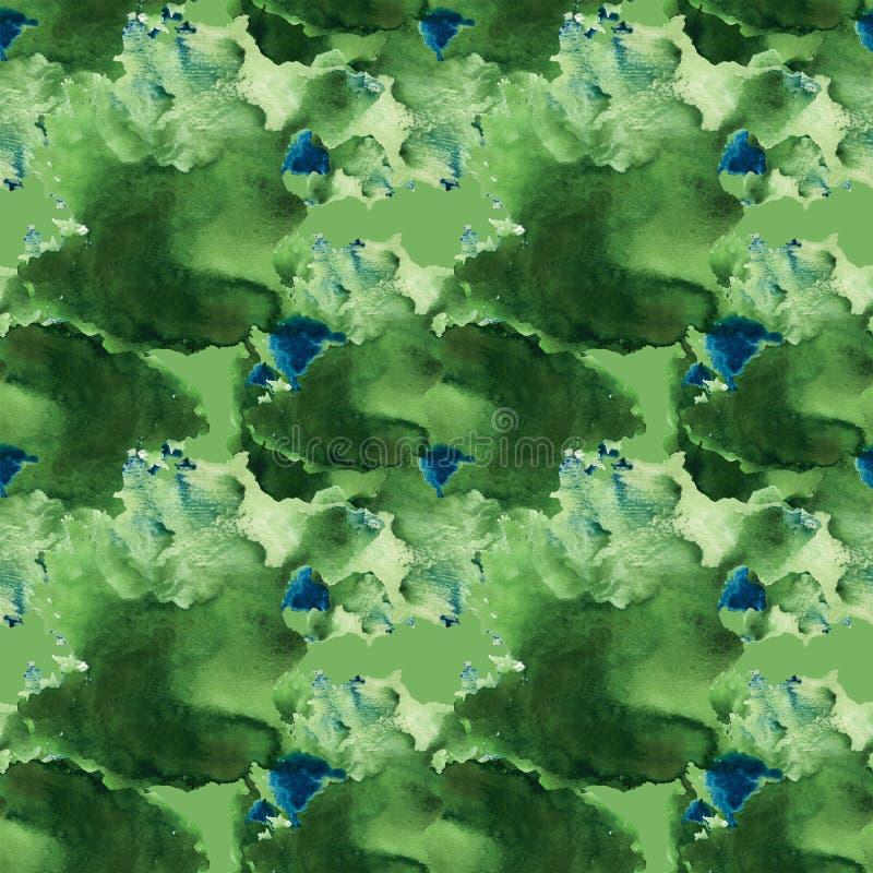 Abstrakt sömlöst för vattenfärg royaltyfri fotografi