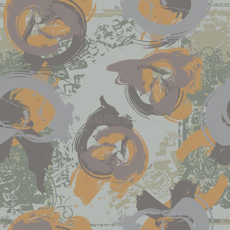 abstrakt seamless vektor illustrationer