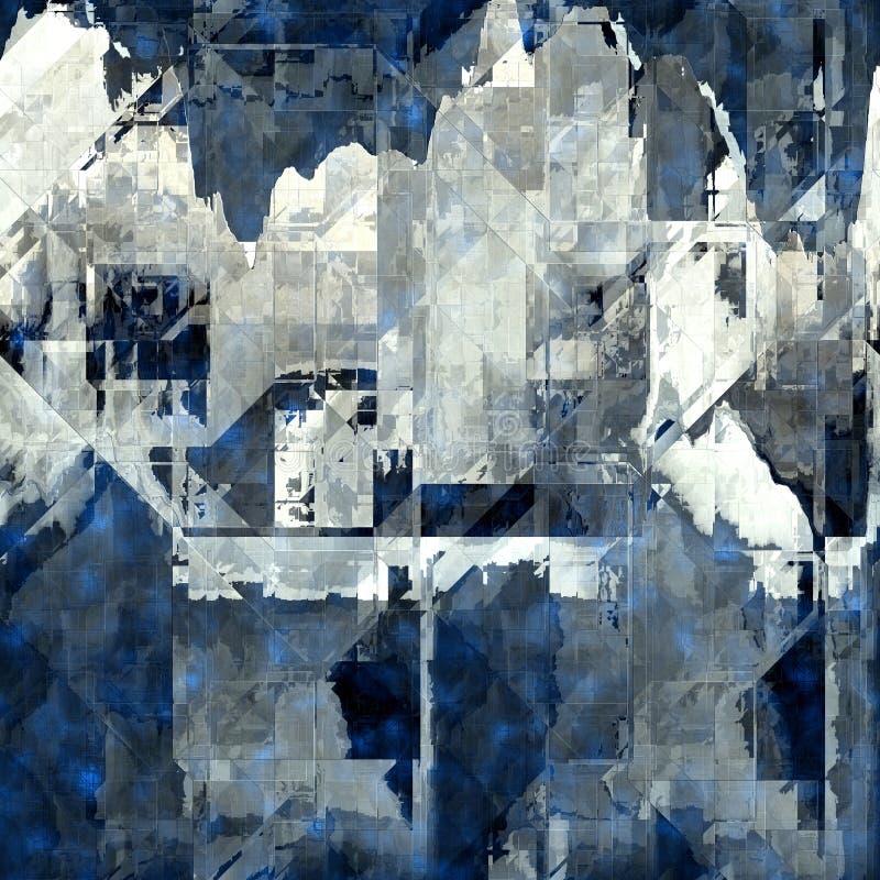 Abstrakt seamless bakgrund vektor illustrationer