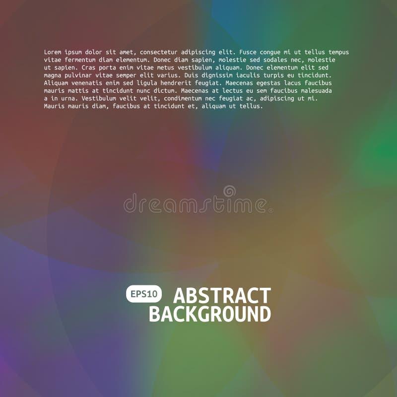 Abstrakt siatki zamazany gradientowy t?o Kolorowy g?adki sztandaru szablon ilustracji