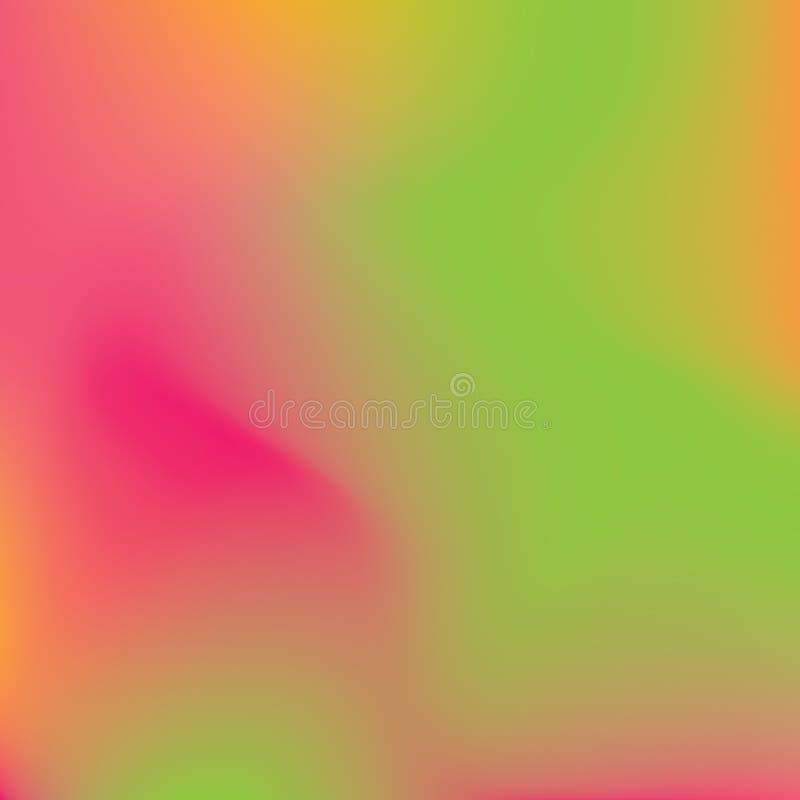 Abstrakt siatki zamazany gradientowy t?o Kolorowy g?adki sztandaru szablon ilustracja wektor
