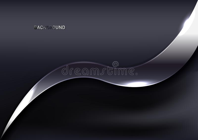 Abstrakt silver- och textilbakgrund vektor illustrationer
