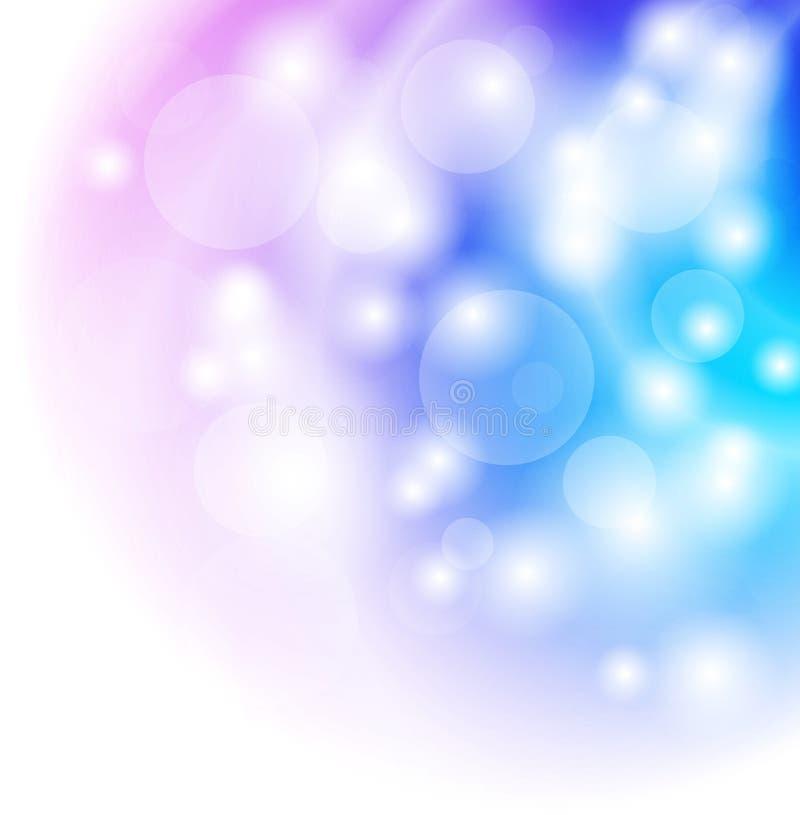 Ljus skina vektorbakgrund stock illustrationer