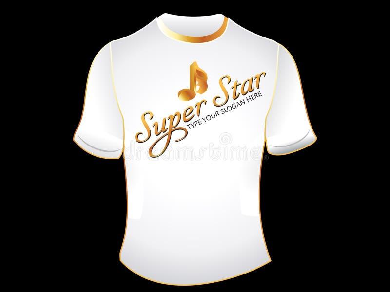 abstrakt skjortastjärna supert stock illustrationer