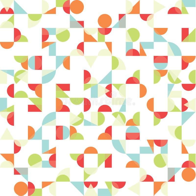 Abstrakt skraj bakgrund för vektor. Sömlös modell. vektor illustrationer