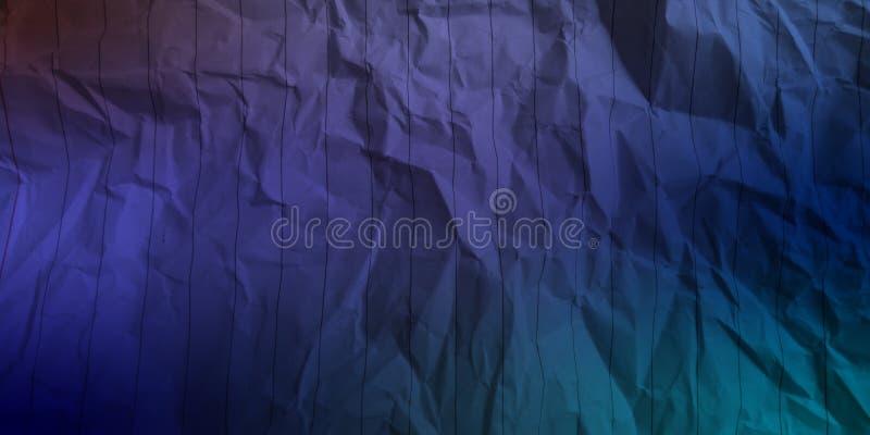 Abstrakt skrynklig pappers- bakgrund för effekter för färger för blå pastellfärgad blå marinblå djupblå färg för elkraft för himm fotografering för bildbyråer
