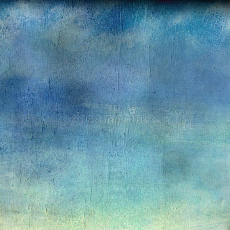 abstrakt sky vektor illustrationer